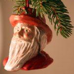 Fisherman Santa tree ornament